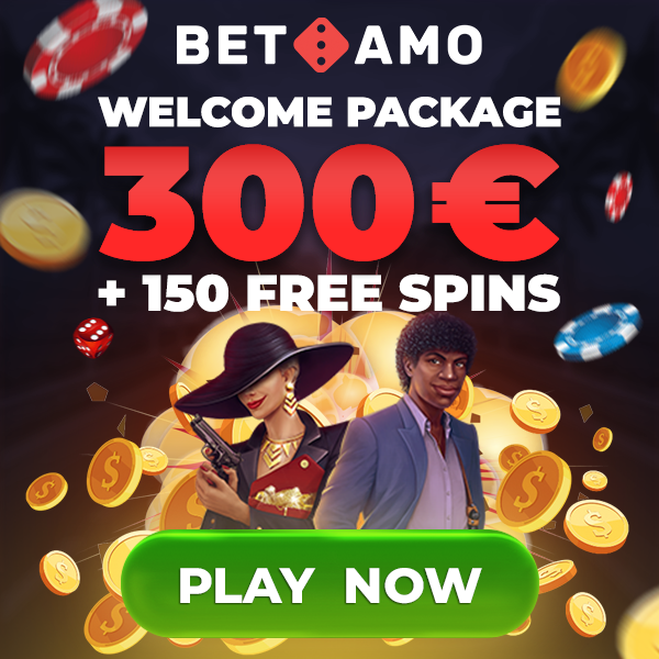 Get the Betamo casino welcome package!